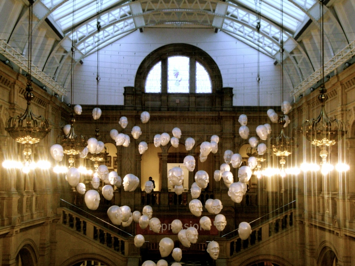 In Kelvingrove Art Gallery