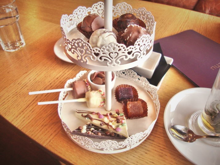 Afternoon tea au chocolat