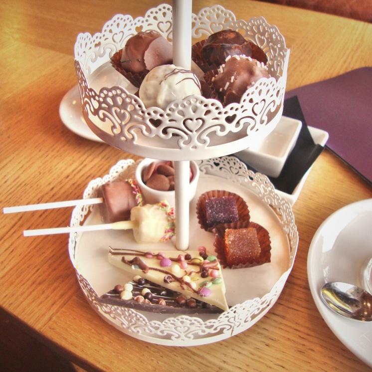 Afternoon tea au chocolat