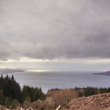 View from Beinn Lora