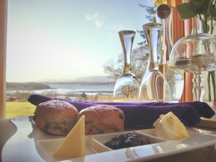 Scones and scenery at Ardtorna