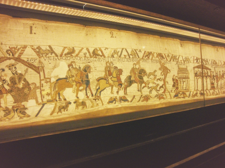 The astounding Bayeux tapestry