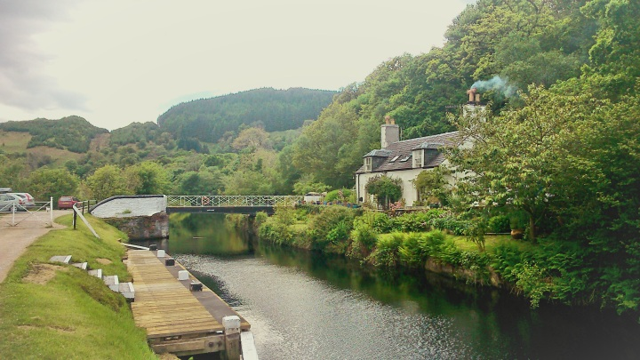 Crinan Bridge and cottage