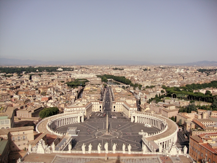 From St Peter's Dome