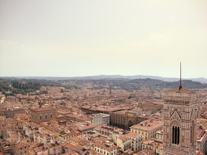 Florence skyline from the duomo