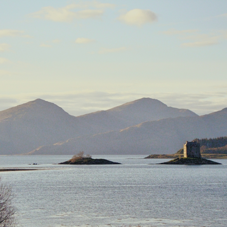 Castle Stalker from Appin