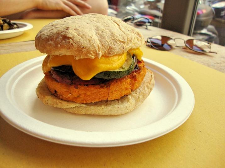 Panino Vegano burgers