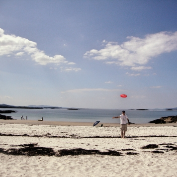 Camusdarach hidden beach