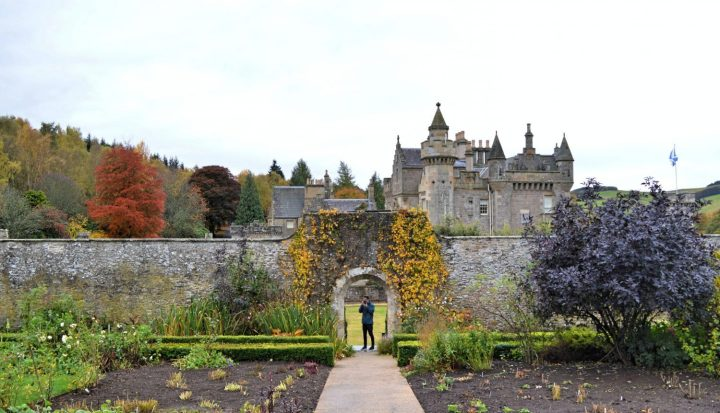 Matt Blaikie at Abbotsford House in the Scottish Borders