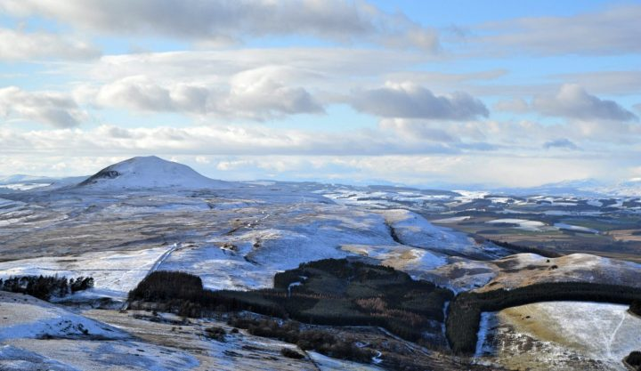 Looking over towards West Lomond , Fife