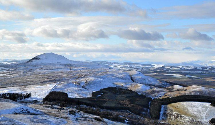 Looking over towards West Lomond , Fife