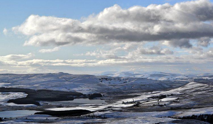 Walk in the Lomond Hills, Fife