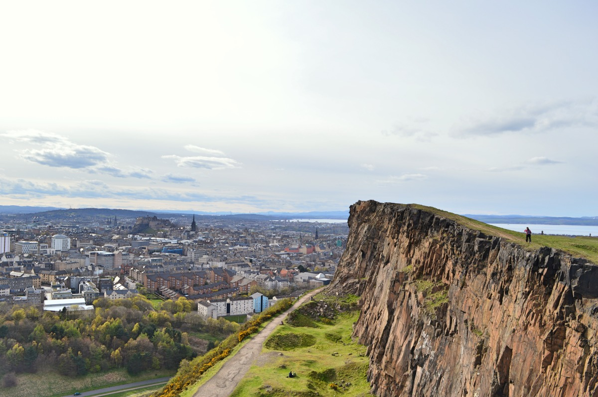Exploring Edinburgh: Salisbury Crags