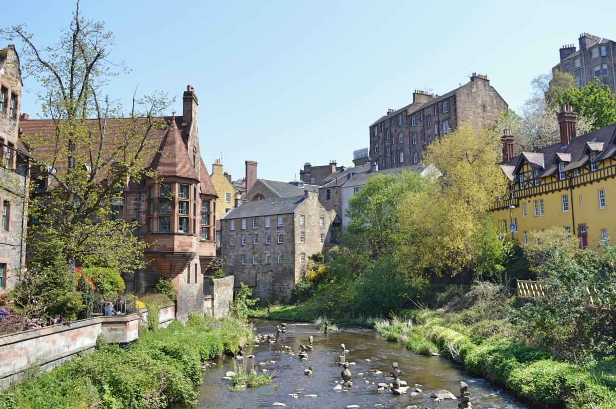 Exploring Edinburgh: Stockbridge to Dean Village