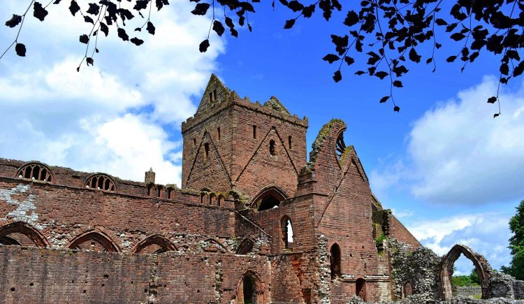 Sweetheart Abbey, Dumfries & Galloway