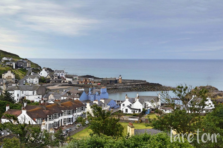 Portpatrick, the view from Fernhill Hotel, Dumfries & Galloway