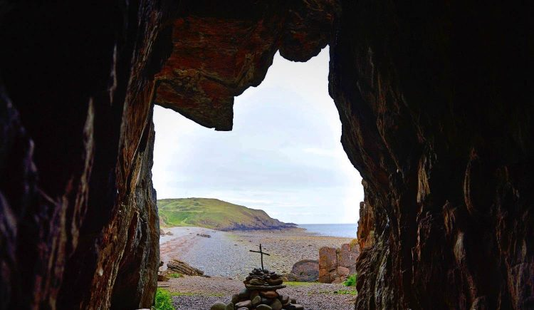 St Ninian's Cave, near Whithorn, Dumfries & Galloway