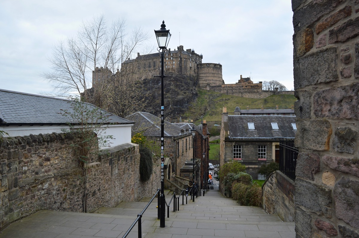 Exploring Edinburgh: The Vennel, Grassmarket
