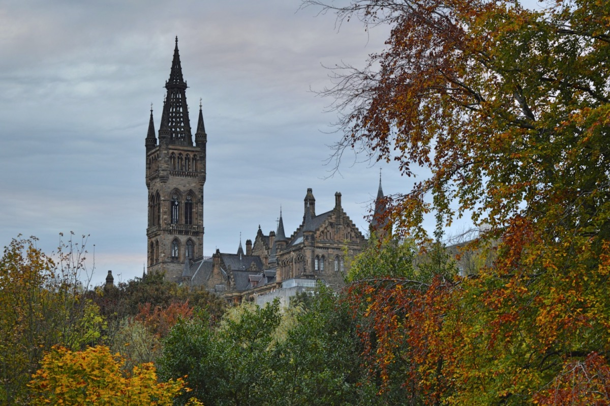 Autumn in Glasgow's gothic West End (as seen in Outlander!)