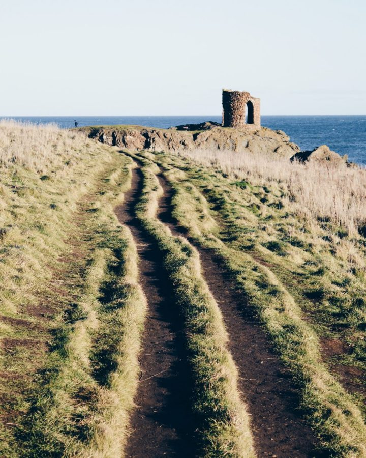 Towards Lady Anstruther house in Elie, Fife