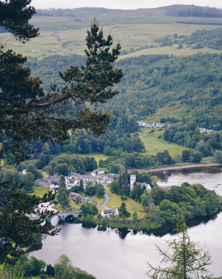 Kenmore from above from Black Rock viewpoint