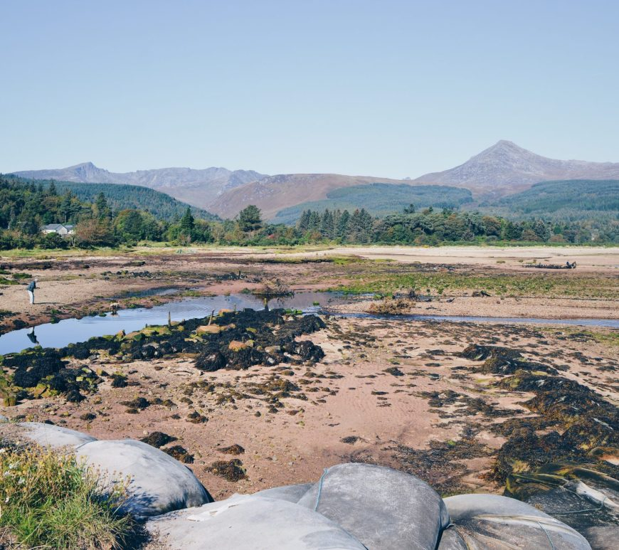 Looking over to Goatfell from Brodick, Arran