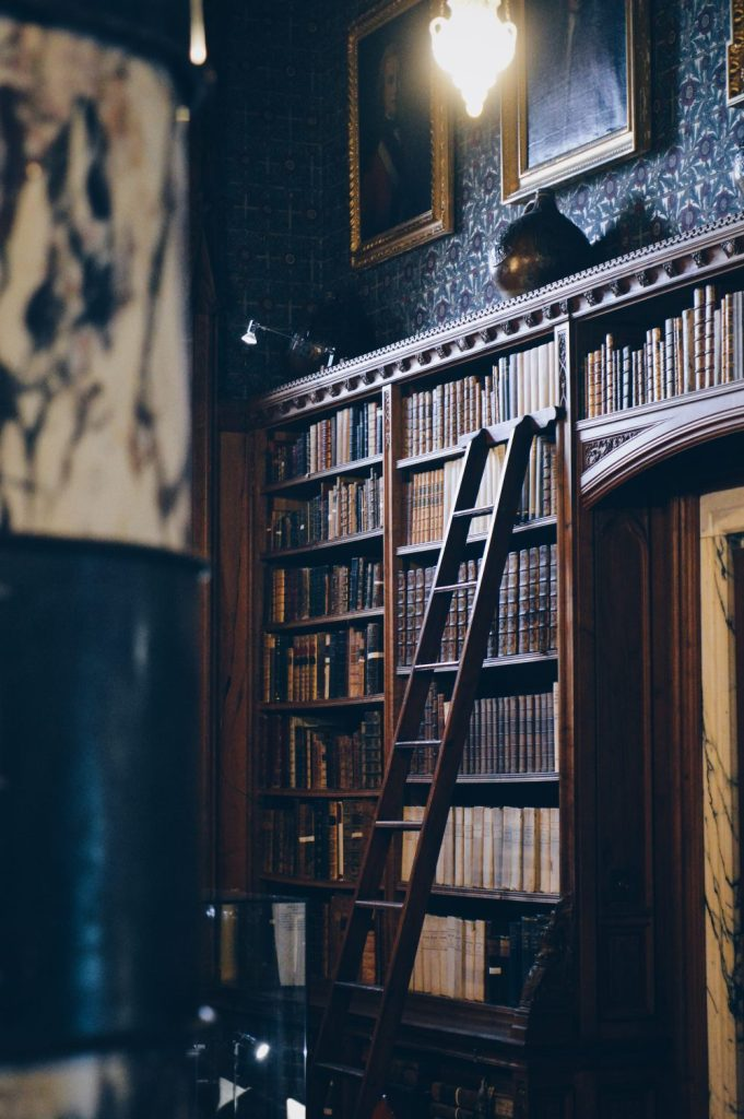 the library at mount stuart