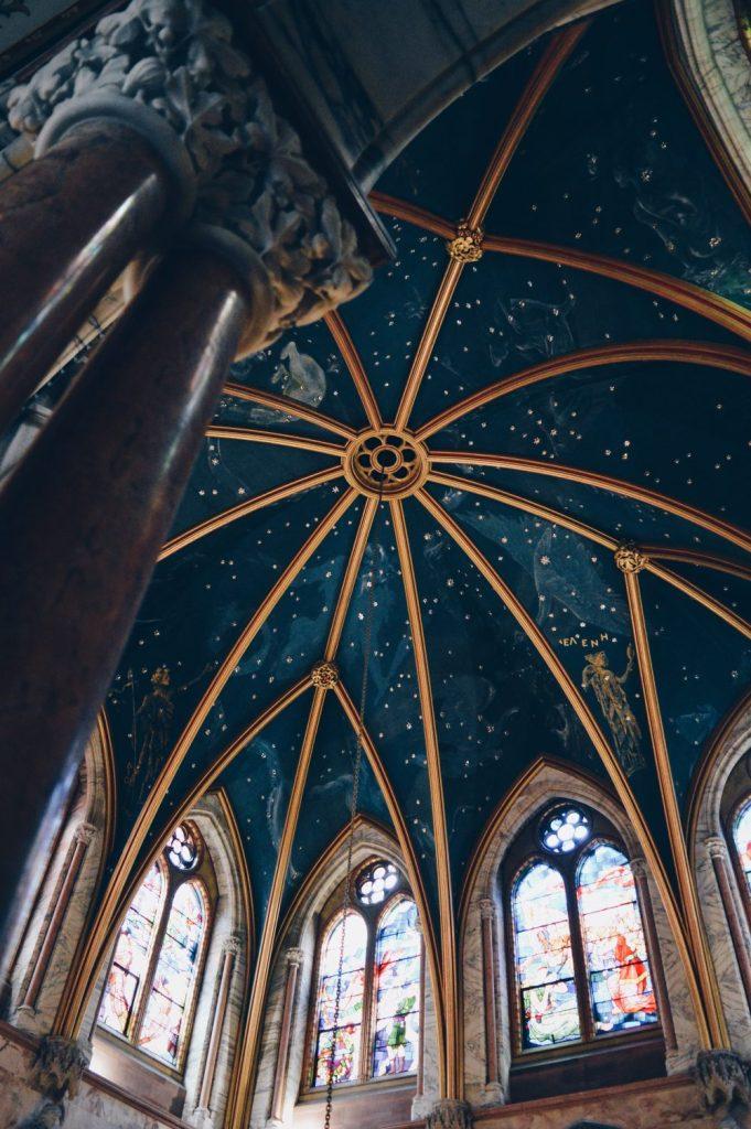 the celestial ceiling at mount stuart