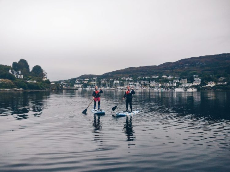 Paddleboarding with Dave from Kayak Majik